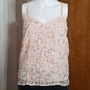 🌻Abercrombie & Fitch Lace Floral Camisole